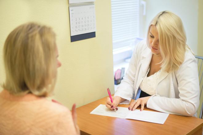 Akušerio ginekologo konsultacija