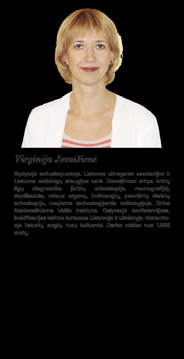 echoskopuotoja VIrginija Jovaišienė krūtų echoskopija krūtų punkcija